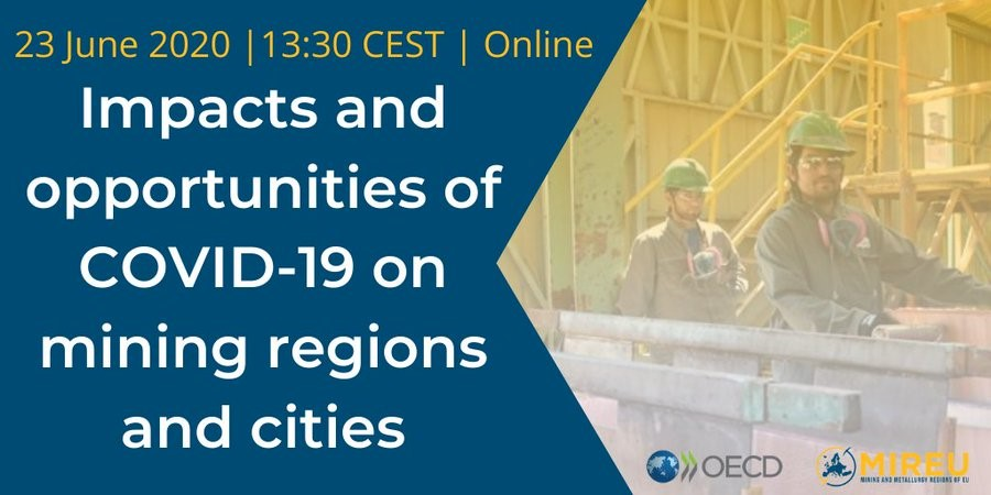 Impacts and opportunities of COVID-19 on mining regions and cities