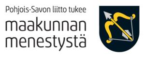 Pohjois-Savon liitto tukee maakunnan menestystä -logo